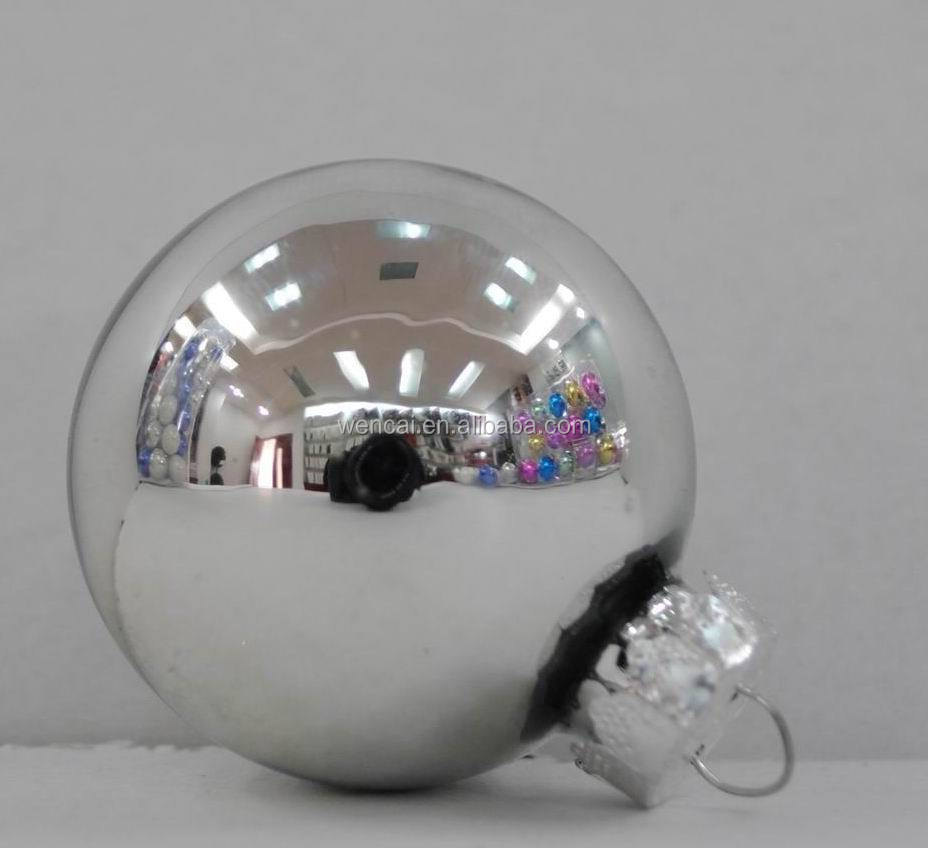Clear glass ball ornaments - Usd 0 30 Hot Sale High Quality 100 Wholesale Clear Glass Christmas Ball Ornaments