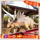 SANHE ROBOT Outdoor Dinosaur Pakr Animated Triceratops Model