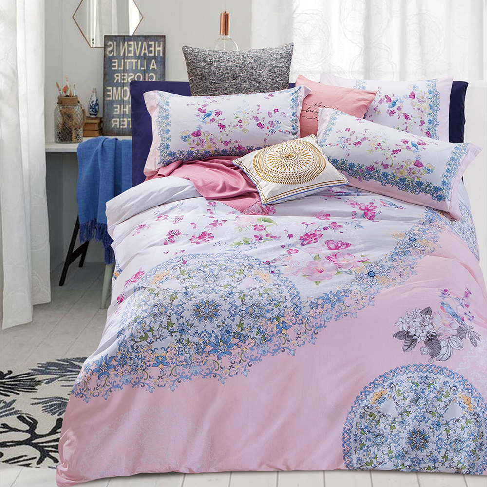 Hot Sale Home Collection Prints 100% Cotton Bedding Comforter Sets Luxury