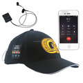 High quality bluetooth music cap and hat connected with earphone,Mobile phone