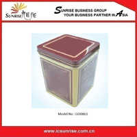 Rectangular Square Tin Box