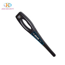 High Quality Rechargeable Handheld Metal Detector for Airport Entrance with headphone output
