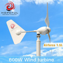 600w 24v windmill permanent magnet generators wind solar hybrid generation system for selling