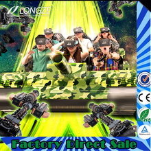 Funny Games Different Seats Amusement Park Equipment Exciting High Profit Game Machine Vr Tank Simulator Cinema
