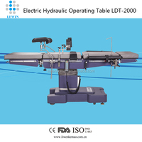 FDA/CE/ISO Medical equipment stainless steel operatiion table LDT-2000A with battery