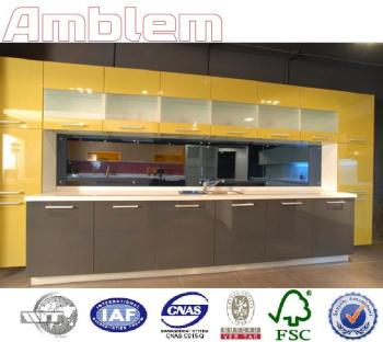 2016 modern high gloss mix color lacquer kitchen cabinets for Best lacquer for kitchen cabinets