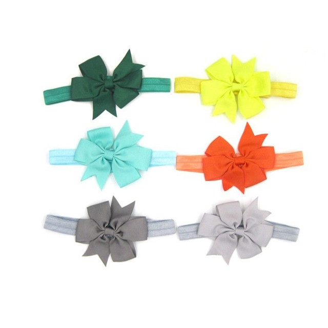 20PC Kid Girl Baby Toddler Infant Flower Headband Hair Bow Band Hair Accessories