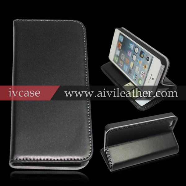 Italian premium wallet case for iphone 5 , for iphone 5 genuine leather case, cell phone case for iphone 5 case