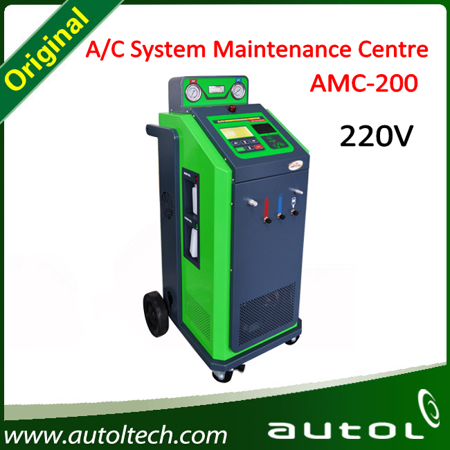 Car Air Conditioning Machine Amc-200 improved air conditioning performance