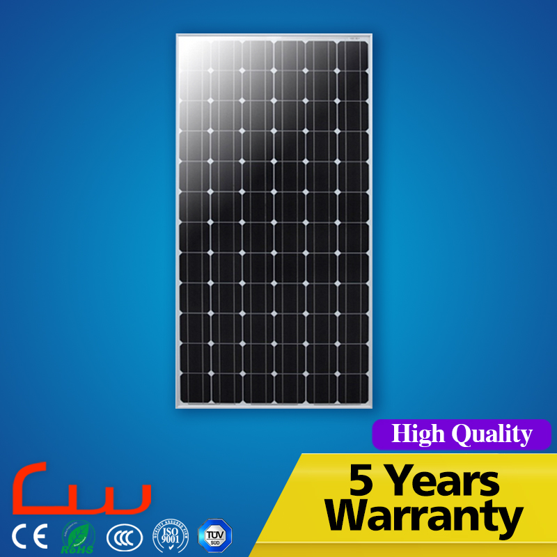 Best price 24v 150w solar panel usd on the street lamp