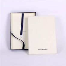 Luxury design paper t-shirt clothing packaging scarf cardboard box