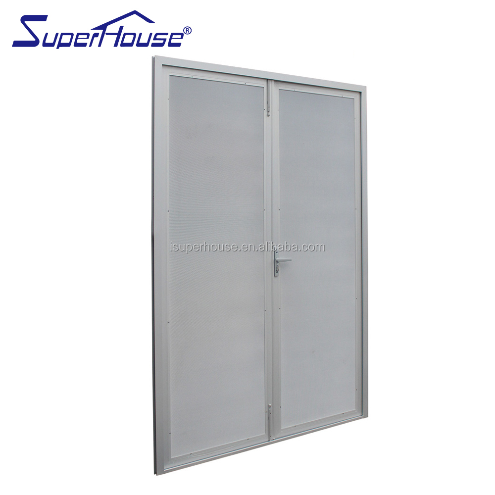 Australia standard AS2047,AS/NZ1288 certificate exterior security screen door|stainless steel anti theft door