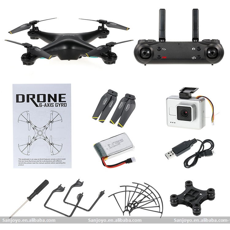 Original DM106 Professional Version Drones with 2MP Camera HD Auto-takeoff/Auto-return RC FPV Quadcopter