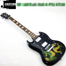 Wholesale High Quality Factory Direct Sale NEW Camouflage Color SG Style Guitars From China