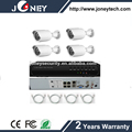 New Kit nvr 4 IP Cameras 4CH POE NVR CCTV Camera