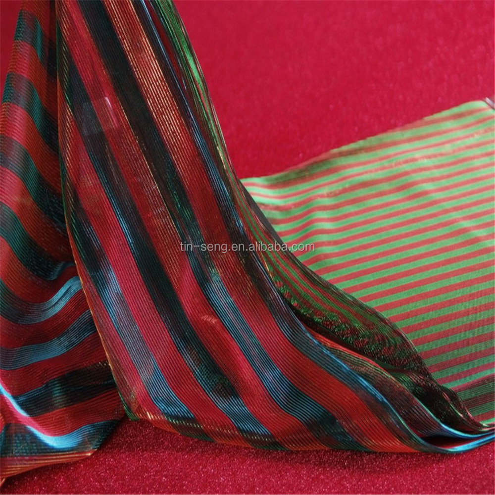indian moonlight fabric with line interlacing