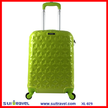 China Factory Promotion abs pc Carry-On luggage 20 inch Cabin luggage