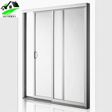 Alibaba China Commercial Automatic tempered glass sliding door