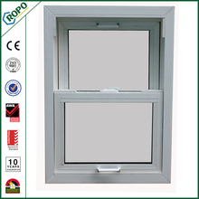 White UPVC Profile Double Hung Impact Window,UPVC Windows And Doors