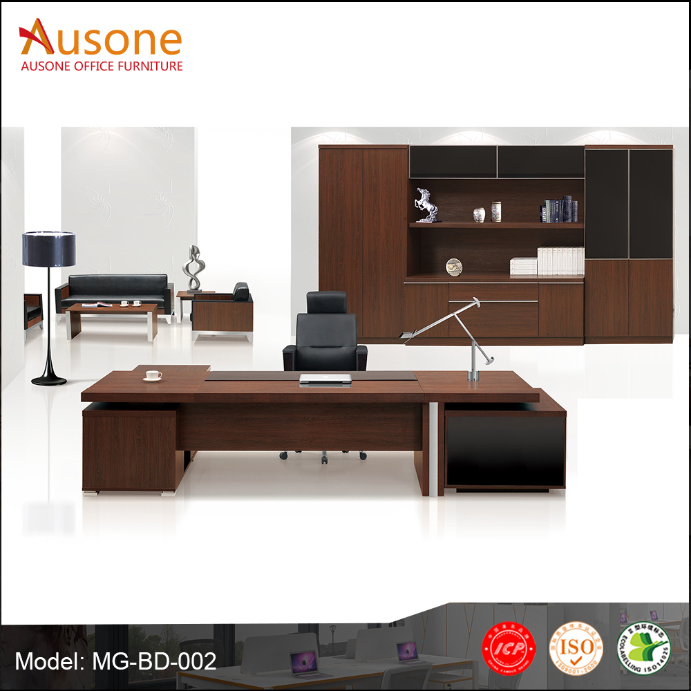 Factory direct sale wood furniture modern office table photos