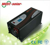 Bw manufacturers power converter with pure sine wave battery charger/ Must Solar Inverter