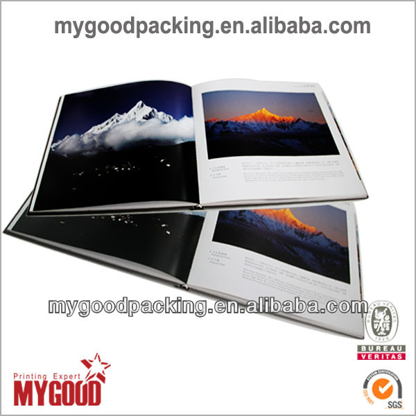 customized printing hardcover photo book factory printing