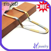 Personality Jewellery Cheap Stainless Steel Snake Necklace Chain With High Quality