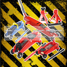 LHH-0003 low profile roller jack hydraulic car trucks mechanical service double scissor jack design to lift appliances
