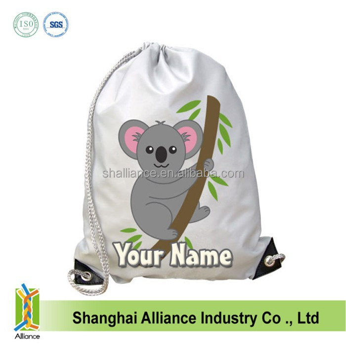 KOALA PERSONALISED GYM / SWIMMING / DANCE BAG - GREAT GIFT & NAMED TOO