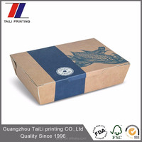 New style disposable kraft food packaging uk