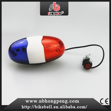 China New design sound horn bell popular ABS unique Multi-color Electronic waterproof bicycle bell
