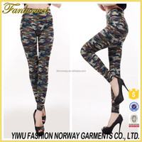 Fashionable European Street Style Comfortable Elegant Skinny Tights Hot Sexy Camo Leggings sexy tight legging