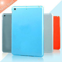 2013 new product plastic tpu cover case for ipad mini