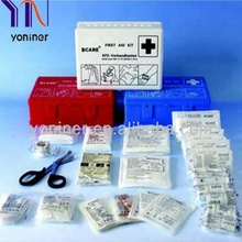Car First Aid Kits DIN 13164 Manufacturer CE ISO13485 FDA Approved