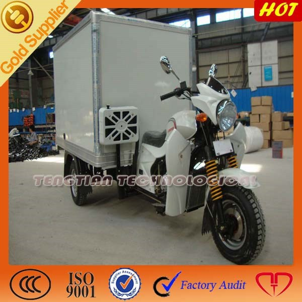 new three wheel motorcycle /electric drive axle loncin 200cc cargo bike