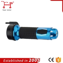 Motorcycle Parts Packaging exquisite aluminum alloy handlebar Grips, steering handle bar for E-Bike