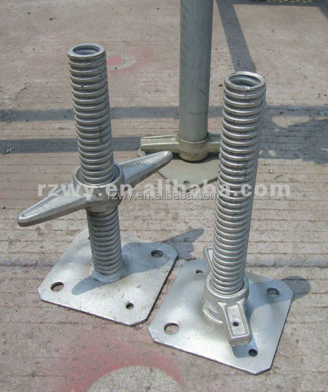 Adjustable U Head : Formwork accessory adjustable u head screw jack stand