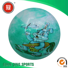 Mixed Color Children Sports Inflatable Plastic Ball Soccer Football Kids Toys 20cm Diameter Street Ball Outdoor