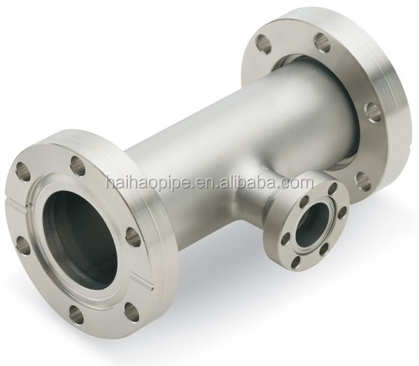 Hot Sale asme a105 carbon steel/stainless steel pipe fitting flange equal tee