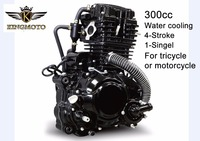 Motorcycle CBU engines 300cc water-cooled 300cc water cooling 4-stroke single cylinder for tricycle or motorcycle