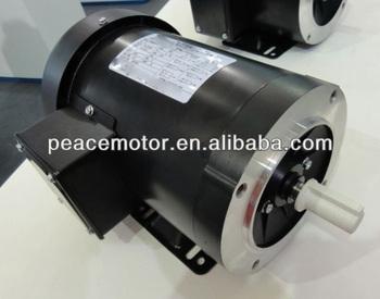 Nema rolled steel frame tefc tenv electric 5 hp motor for 5 hp tefc motor