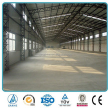 High quality portal frame steel structure industrial shed