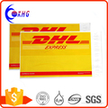 Self adhesive custom DHL express shipping envelope poly mailing bag