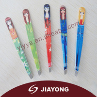 Professional stainless steel eyebrow tweezers