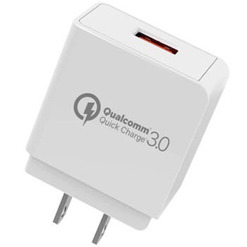 New Qualcomm Quick Charge 3.0 QC3.0 Support One USB Output Port Fast Wall Charger