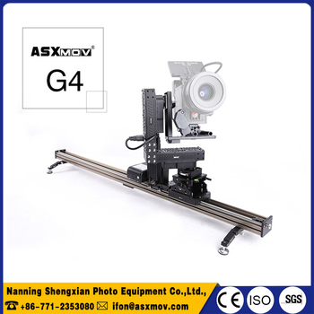 best price ASXMOV G4s wireless track dolly slider motorized dslr slider