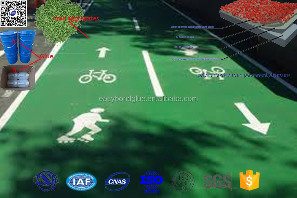 Road greening for urban streets public parks bicycle lanes