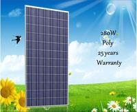 JXSOL product 290W polycrystalline solar module with 10 years replacement warranty