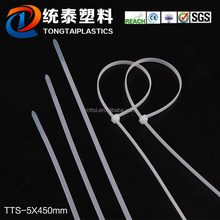 TTS 5*450 online shopping 4.7mm colored Self Locking Nylon Cable Ties, home cable management tool