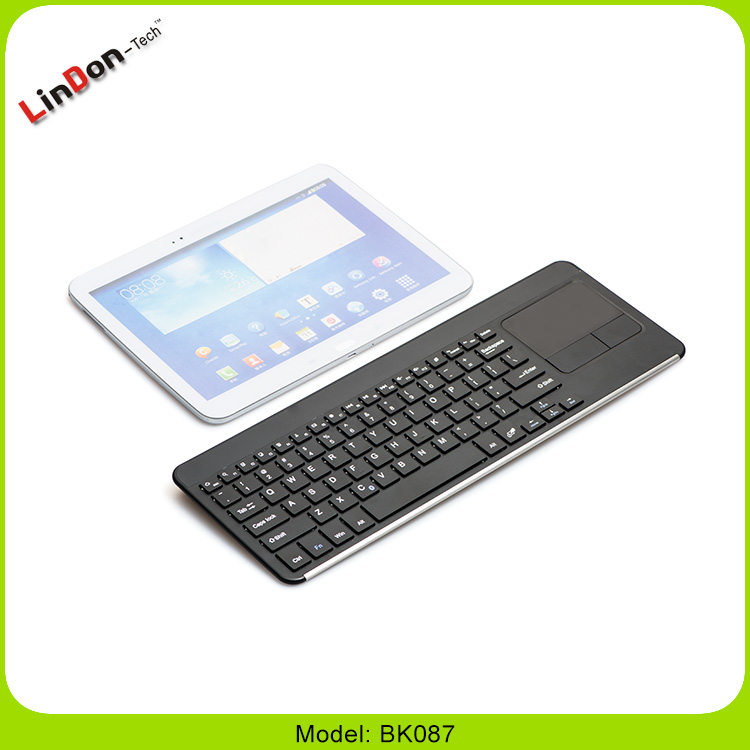 Universal dry battery wireless Bluetooth 3.0 touchpad keyboard for Android Tablet BK087